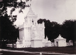 The Tooth-Relic Tower, [Mandalay]